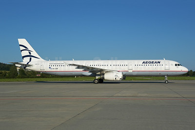 Aegean Airlines Airbus A321-231 SX-DNF (msn 2553) ZRH (Rolf Wallner). Image: 954957.