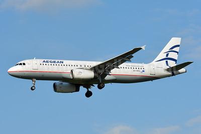 Aegean Airlines Airbus A320-232 SX-DGL (msn 3812) TLS (Paul Bannwarth). Image: 942512.