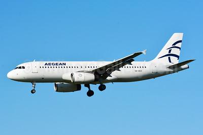 Aegean Airlines Airbus A320-232 SX-DGV (msn 1856) ZRH (Paul Bannwarth). Image: 929100.