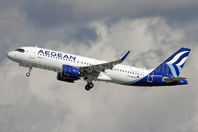 1st A320neo, delivered January 27, 2020
