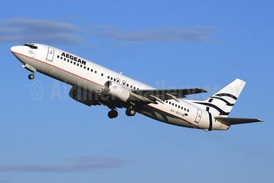 Aegean Airlines Boeing 737-46B SX-BGX (msn 24124) CFU (SPA). Image: 940824.