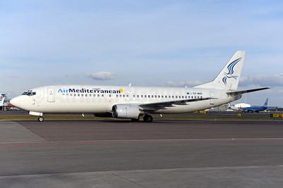 Air Mediterranean Boeing 737-405 SX-MAH (msn 24643) AMS (Ton Jochems). Image: 941156.