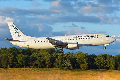 Air Mediterranean Boeing 737-446 SX-MAM (msn 28097) BSL (Paul Bannwarth). Image: 950569.