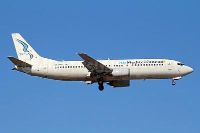 Air Mediterranean Boeing 737-405 SX-MAH (msn 24643) FRA (Marcelo F. De Biasi). Image: 943689.