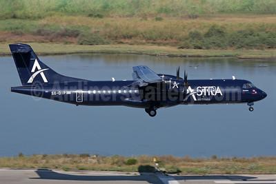 Astra Airlines (Greece) ATR 72-202 SX-DIP (msn 328) CFU (Antony J. Best). Image: 928719.