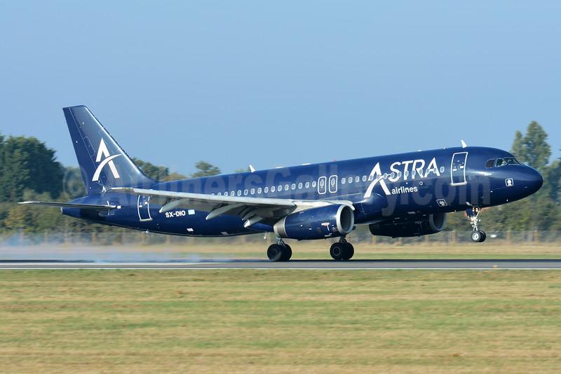 Astra Airlines (Greece) Airbus A320-232 SX-DIO (msn 527) NTE (Paul Bannwarth). Image: 935664.