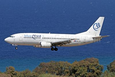 Blue Bird Airways Boeing 737-3Y0 9H-TAS (msn 24770) RHO (Andi Hiltl). Image: 947610.