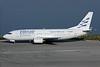 Ellinair Boeing 737-3Q8 LY-GGC (msn 24492) CFU (Antony J. Best). Image: 928714.