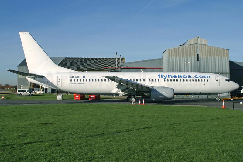 Helios Airways-flyhelios.com Boeing 737-86N 5B-DBI (msn 30807) QLA (Antony J. Best). Image: 922022.