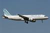 Hellas Jet (LatCharter) Airbus A320-211 YL-BCB (msn 726) (LatCharter colors) TLS (Eurospot). Image: 924696.