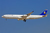 Hellenic Imperial Airways (Gulf Air) Airbus A340-313 A9C-LH (msn 215) DXB (Ole Simon). Image: 907733.