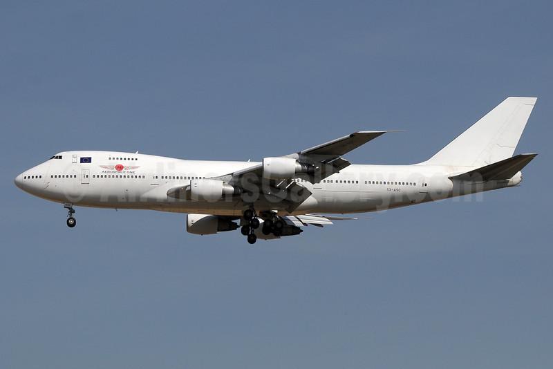 Aerospace One Boeing 747-21AC SX-ASC (msn 23652) DXB (Paul Denton). Image: 921637.