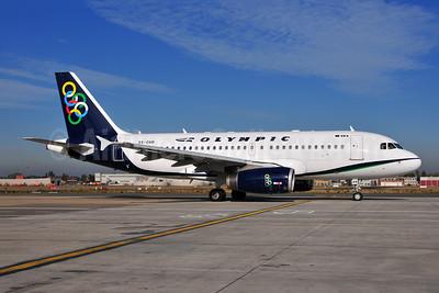 Olympic Air (3rd) Airbus A319-132 SX-OAN (msn 1727) BRU (Ton Jochems). Image: 954220.