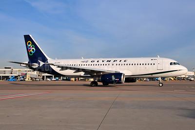 Olympic Air (3rd) Airbus A320-232 SX-OAI (msn 3162) AMS (Ton Jochems). Image: 954221.