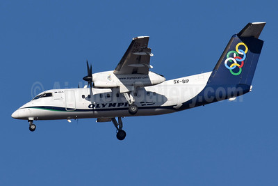 Olympic Air (3rd) Bombardier DHC-8-102 Dash 8 SX-BIP (msn 347) ATH (Richard Vandervord). Image: 951999.