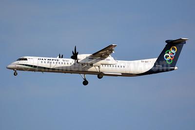 Olympic Air (3rd) Bombardier DHC-8-402 (Q400) SX-BIT (msn 4148) ATH (Jay Selman). Image: 403147.
