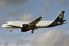 Olympic Air (3rd) Airbus A320-214 SX-OAU (msn 4193) LHR (David Apps). Image: 904652.