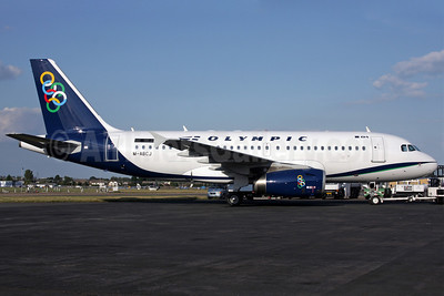 Olympic Air (3rd) Airbus A319-132 M-ABCJ (SX-OAL) (msn 3252) SEN (Antony J. Best). Image: 903318.
