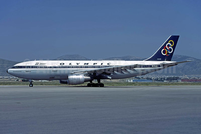 Olympic Airways (1st) Airbus A300B4-103 SX-BED (msn 058) ATH (Richard Vandervord). Image: 949272.