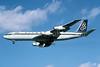 Olympic Airways (1st) Boeing 707-384C SX-DBC (msn 18950) LHR (Richard Vandervord). Image: 901650.