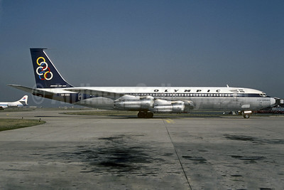 Olympic Airways (1st) Boeing 707-351C SX-DBO (msn 19164) ORY (Christian Volpati). Image: 911174.