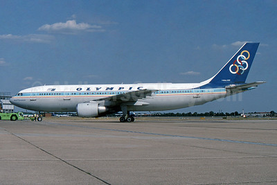 Olympic Airways (1st) Airbus A300B4-103 SX-BEI (msn 189) LHR (SPA). Image: 954425.