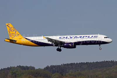 Olympus Airways Airbus A321-231 SX-ABY (msn 983) (Monarch colors) ZRH (Andi Hiltl). Image: 942619.