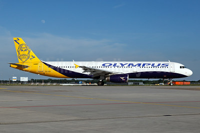 Olympus Airways Airbus A321-231 SX-ABY (msn 983) (Monarch colors) MUC (Arnd Wolf). Image: 942620.