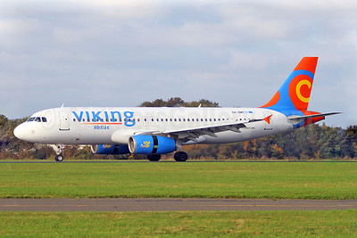 Viking Hellas Airlines Airbus A320-231 SX-SMT (msn 393) SEN (Keith Burton). Image: 922603.