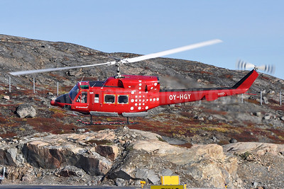 Air Greenland Bell 212 OY-HGY (msn 30572) JAV (Robbie Shaw). Image: 939449.