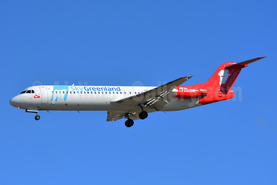 Sky Greenland  (Denim Air) Fokker F.28 Mk. 0100 PH-MJP (msn 11505)  TLS (Paul Bannwarth). Image: 935660.