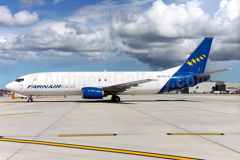 Farnair Europe (Hungary) Boeing 737-43Q (F) HA-FAU (msn 28494) DUB (Greenwing). Image: 933624.