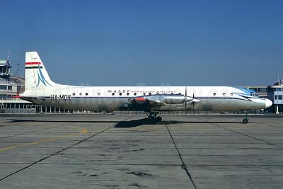 MALEV Hungarian Airlines Ilyushin Il-18V HA-MOH (msn 184007104) LBG (Christian Volpati). Image: 900667.