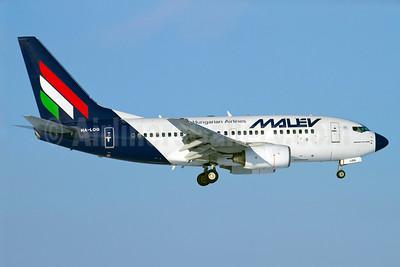 MALEV Hungarian Airlines Boeing 737-6Q8 HA-LOG (msn 28261) ARN (Stefan Sjogren). Image: 906055.