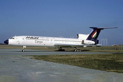 MALEV Hungarian Airlines Cargo Tupolev Tu-154B-2 HA-LCA (msn 73A045) BUD (Rolf Wallner). Image: 954462.
