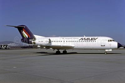 MALEV Hungarian Airlines Fokker F.28 Mk. 0070 HA-LMB (msn 11565) ZRH (Rolf Wallner). Image: 924237.