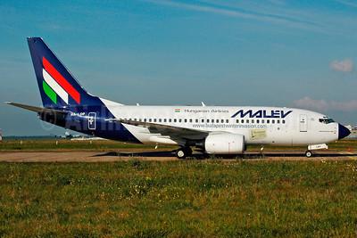 MALEV Hungarian Airlines Boeing 737-7Q8 HA-LOP (msn 29354) (Budapest Winter Invasion) FRA (Bernhard Ross). Image: 900563.