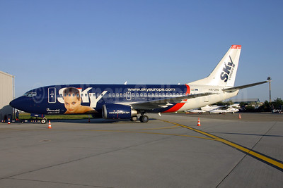 SkyEurope Airlines (Hungary) Boeing 737-33V HA-LKU (msn 29336) (Benedek Muriel) BUD (Viktor Laszlo). Image: 903166.