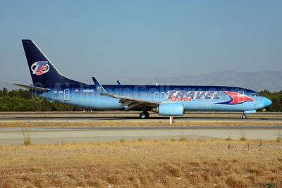 Travel Service Airlines (Hungary) Boeing 737-86Q WL HA-LKE (msn 30278) (O2 blue fade) AYT (Ton Jochems). Image: 920773.