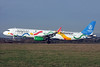 """Wizz's 2016 """"Budapest - Canadidate City Olympic Games 2024"""" promotional livery"""