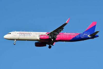 Wizz Air  (Hungary) Airbus A321-231 WL HA-LXL (msn 7488) BSL (Paul Bannwarth). Image: 943009.