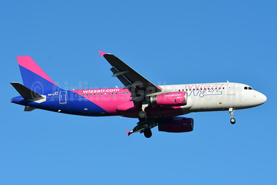 Wizz Air (wizzair.com) (Hungary) Airbus A320-232 HA-LPJ (msn 3127) BSL (Paul Bannwarth). Image: 945827.