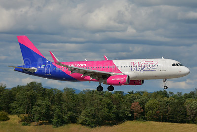Wizz Air (Hungary) Airbus A320-232 WL HA-LSA (msn 8362) BSL (Paul Bannwarth). Image: 951078.