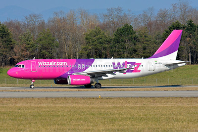 Wizz Air (wizzair.com) (Hungary) Airbus A320-232 HA-LPN (msn 3354) BSL (Paul Bannwarth). Image: 934523.