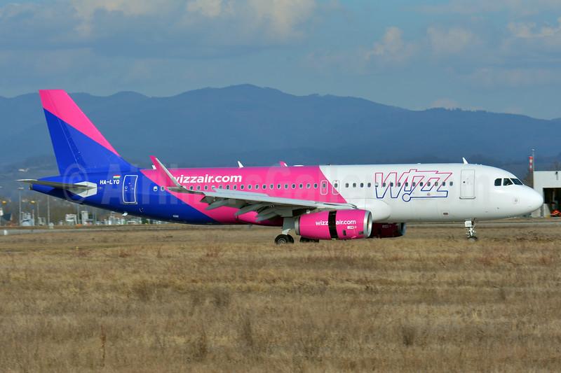 Wizz Air (wizzair.com) (Hungary) Airbus A320-232 WL HA-LYQ (msn 6614) BSL (Paul Bannwarth). Image: 937196.