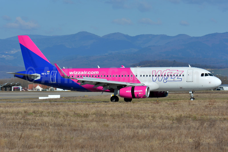 Wizz Air (wizzair.com) (Hungary) Airbus A320-232 WL HA-LYT (msn 6683) BSL (Paul Bannwarth). Image: 937280.