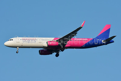 Wizz Air  (Hungary) Airbus A321-231 WL HA-LXP (msn 7578) BSL (Paul Bannwarth). Image: 951080.