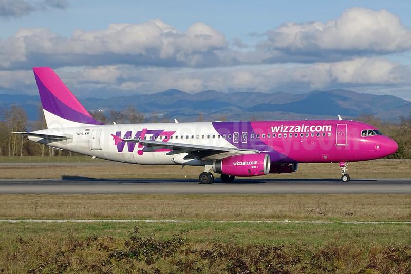 Wizz Air (wizzair.com) (Hungary) Airbus A320-232 HA-LWM (msn 5021) BSL (Paul Bannwarth). Image: 931907.
