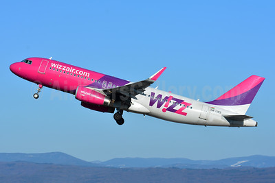 Wizz Air (wizzair.com) (Hungary) Airbus A320-232 WL HA-LWZ (msn 6086) BSL (Paul Bannwarth). Image: 941054.