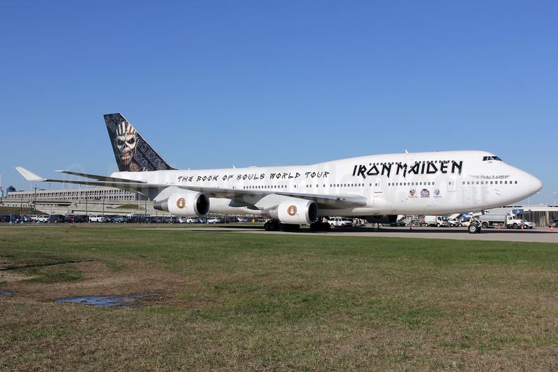 Air Atlanta Icelandic Boeing 747-428 TF-AAK (msn 32868) (Iron Maiden) DFW (Jeffrey S. DeVore). Image: 932440.